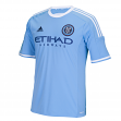 New York City FC Adidas MLS Performance Replica Jersey - Light Blue