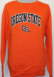 Oregon State Beavers NCAA Embroidered Crew Sweatshirt - Orange