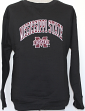 Mississippi State Bulldogs NCAA Embroidered Crew Sweatshirt - Black