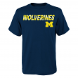 "Michigan Wolverines NCAA ""Team Trials"" Men's Short Sleeve T-Shirt"