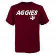 "Texas A&M Aggies NCAA ""Team Trials"" Men's Short Sleeve T-Shirt"