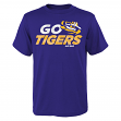 "LSU Tigers NCAA ""Game Time"" Men's Short Sleeve T-Shirt"