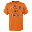 "Oklahoma State Cowboys NCAA ""Grid"" Short Sleeve Men's T-Shirt"