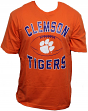 "Clemson Tigers NCAA ""Grid"" Short Sleeve Men's T-Shirt"