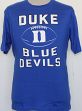 "Duke Blue Devils NCAA ""Grid"" Short Sleeve Men's T-Shirt"