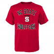 "North Carolina State Wolfpack NCAA ""Grid"" Short Sleeve Men's T-Shirt"