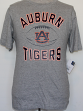 "Auburn Tigers NCAA ""Grid"" Short Sleeve Men's T-Shirt - Grey"