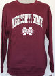 Mississippi State Bulldogs NCAA Embroidered Crew Men's Sweatshirt