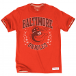 "Baltimore Orioles MLB Mitchell & Ness ""Champs"" Vintage Premium Men's T-Shirt"