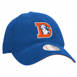 "Denver Broncos Mitchell & Ness NFL ""Throwback Felt Logo"" Slouch Adjustable Hat"