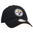 "Pittsburgh Steelers Mitchell & Ness NFL ""Throwback Logo"" Slouch Adjustable Hat"