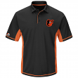 """Baltimore Orioles Majestic MLB """"Top of the Inning"""" Men's Performance Polo Shirt"""