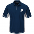 "Detroit Tigers Majestic MLB ""Top of the Inning"" Men's Performance Polo Shirt"