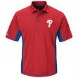 "Philadelphia Phillies Majestic ""Top of the Inning"" Men's Performance Polo Shirt"
