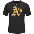 "Oakland Athletics Majestic MLB ""Skills Test"" Cool Base Synthetic T-Shirt"