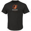 "Baltimore Orioles Majestic MLB ""Modern Marvel"" Cool Base Synthetic T-Shirt"