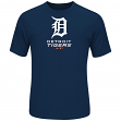 "Detroit Tigers Majestic MLB ""Modern Marvel"" Cool Base Synthetic T-Shirt"