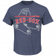 "Boston Red Sox Majestic MLB ""Rise to Victory"" Short Sleeve Men's T-Shirt"
