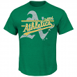 "Oakland Athletics Majestic MLB ""Rise to Victory"" Short Sleeve Men's T-Shirt"