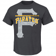 "Pittsburgh Pirates Majestic MLB ""Rise to Victory"" Short Sleeve Men's T-Shirt"