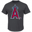 "Los Angeles Angels Majestic MLB ""Schooled"" S/S Men's Charcoal T-Shirt"