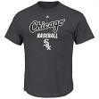 "Chicago White Sox Majestic MLB ""Destiny"" Men's S/S T-Shirt - Charcoal"