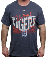 "Detroit Tigers Majestic MLB ""Fast Breakin"" Short Sleeve Men's T-Shirt"