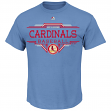 "St. Louis Cardinals Majestic MLB ""Great Performance"" Cooperstown Men's T-Shirt"