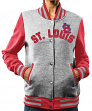 "St. Louis Cardinals Women's Majestic MLB ""Stolen Bases"" Bomber Jacket"