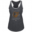 "Baltimore Orioles Women's Majestic MLB ""Crushing It"" Scoop Neck Tank Top"