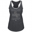 "Chicago White Sox Women's Majestic MLB ""Crushing It"" Scoop Neck Tank Top"