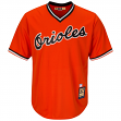 Cal Ripken Jr. Baltimore Orioles Cooperstown Cool Base Replica Orange Jersey