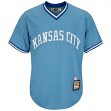 George Brett Kansas City Royals Cooperstown Cool Base Replica Blue Jersey