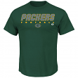 """Green Bay Packers Majestic NFL """"Reflective"""" Short Sleeve Men's T-Shirt"""