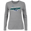 "Seattle Seahawks Women's 2014 NFC Conference Champions ""Push"" L/S T-Shirt"