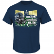 "Seattle Seahawks Majestic NFL Super Bowl XLIX ""On Our Way"" S/S Men's T-Shirt"