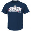 "New England Patriots Majestic 2014 AFC Champions ""Supremacy"" S/S T-Shirt"