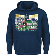 "New England Patriots Majestic NFL Super Bowl XLIX ""On Our Way"" Hooded Sweatshirt"