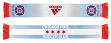 "Chicago Fire Adidas MLS ""Sublimated Stripe"" Team Logo Scarf"