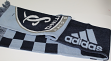 "Sporting Kansas City Adidas MLS ""Checkered Pattern"" Jacquard Team Logo Scarf"