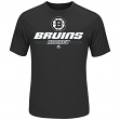 """Boston Bruins Majestic """"Puck Clearing"""" Cool Base S/S Men's T-Shirt"""