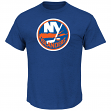 New York Islanders Majestic NHL Vintage Tek Patch Embroidered Premium T-Shirt