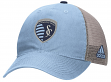 Sporting Kansas City Adidas MLS Slouch Adjustable Mesh Back Hat
