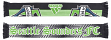 """Seattle Sounders Adidas MLS Authentic """"Stripe"""" Sublimated Team Scarf"""