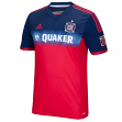 Chicago Fire Adidas MLS Performance Authentic Game Jersey