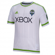 Seattle Sounders Adidas MLS Performance Authentic Game Jersey - White