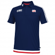 New England Revolution Adidas MLS Climacool Authenic On Field Polo Shirt