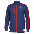 "Chicago Fire Adidas MLS ""Anthem"" Authentic On Field Full Zip Track Jacket"