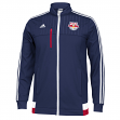 "New York Red Bulls Adidas MLS ""Anthem"" Authentic On Field Full Zip Track Jacket"