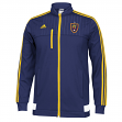 "Real Salt Lake Adidas MLS ""Anthem"" Authentic On Field Full Zip Track Jacket"